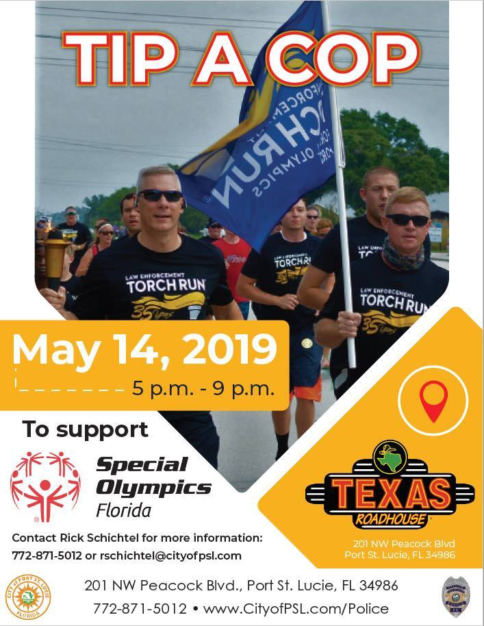 Special Olympics Tip A Cop - Port St Lucie