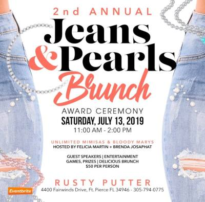 Jeans & Pearls Annual Brunch and Awards Ceremony