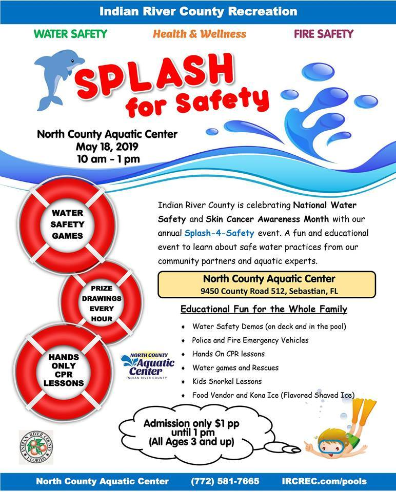 Splash For Safety - Water Safety Day at North County Aquatic Center