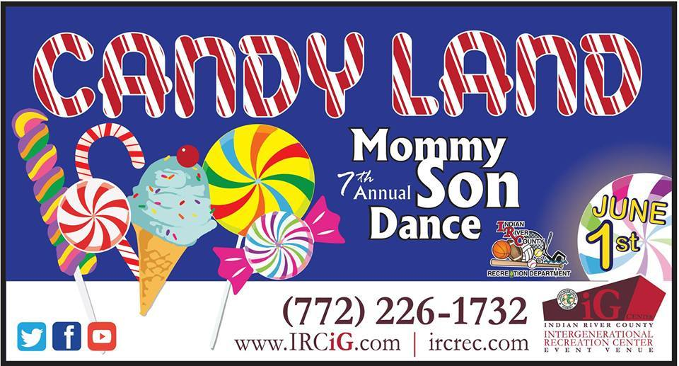 Annual Mommy Son Dance at the Indian River County IG Center