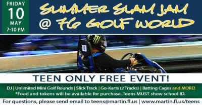 Teen Summer Slam Jam by Martin County Parks and Recreation