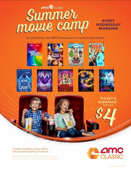 AMC Classic Summer Movie Camp for Kids