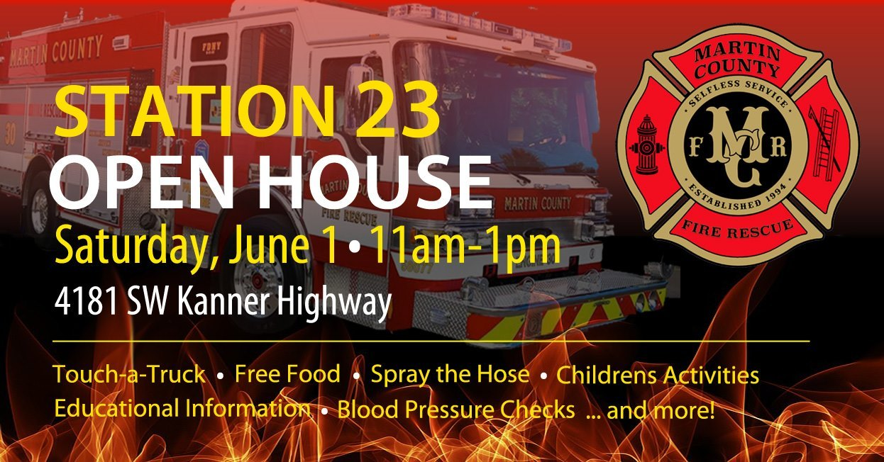 Station 23 Fire Station Open House - Martin County