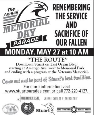Memorial Day Parade & Ceremony at Stuart Memorial Park