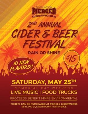 Annual Pierced Cider & Beer Festival at Pierced Cider