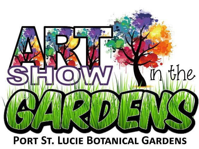 Art Show In The Gardens at Port St Lucie Botanical Gardens