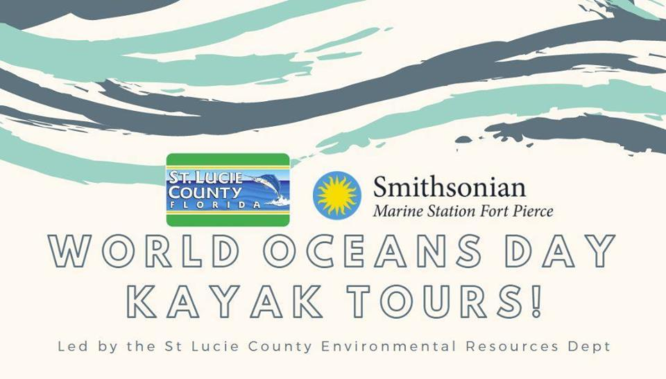 World Oceans Day Kayak Tours with ERD at the Smithsonian Marine Station and Ecosystems Exhibit