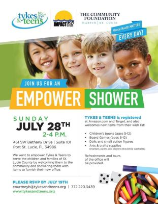 Tykes & Teens Empower Shower and Open House