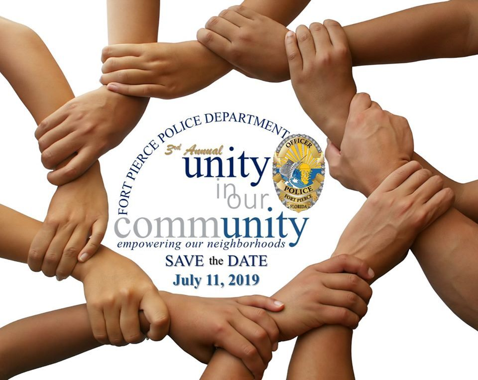 Fort Pierce Police Department hosts Unity in Our Community