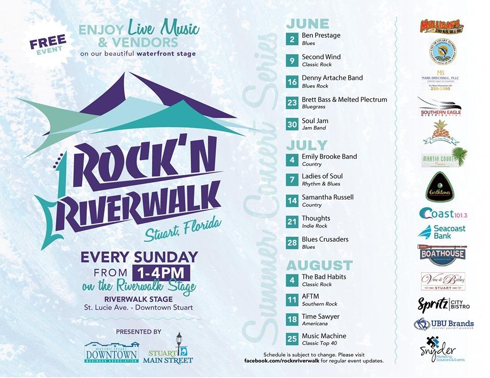Rockin Riverwalk Music Series at Riverwalk Stage Stuart
