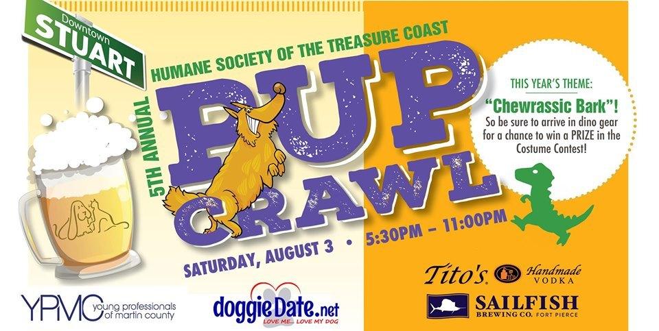 Humane Society of the Treasure Coast Annual Pup Crawl