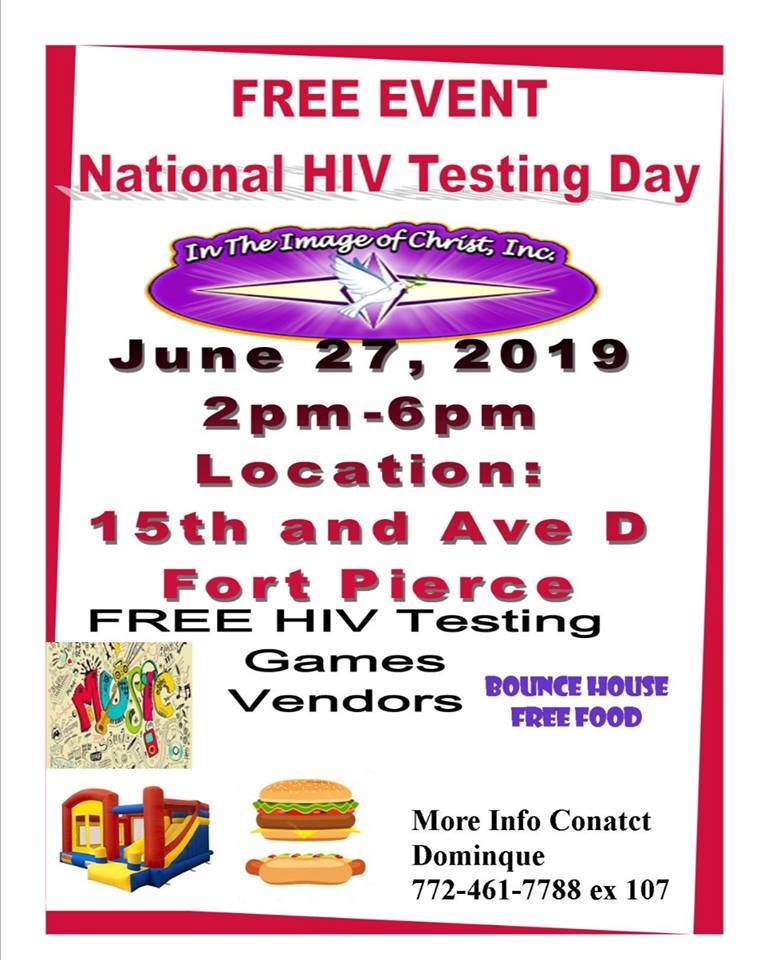 National HIV Testing Day - In The Image Of Christ