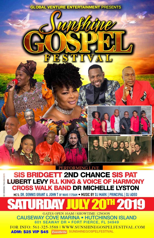 Global Venture Entertainment, LLC. presents Sunshine Gospel Festival