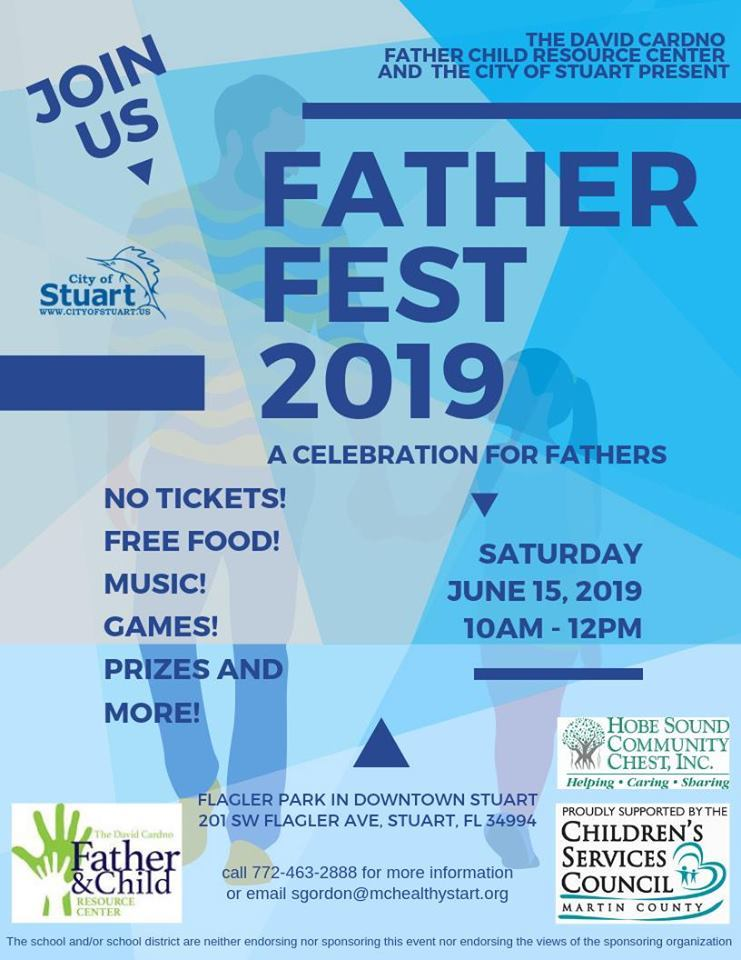 Father Fest at Flagler Park in Downtown Stuart