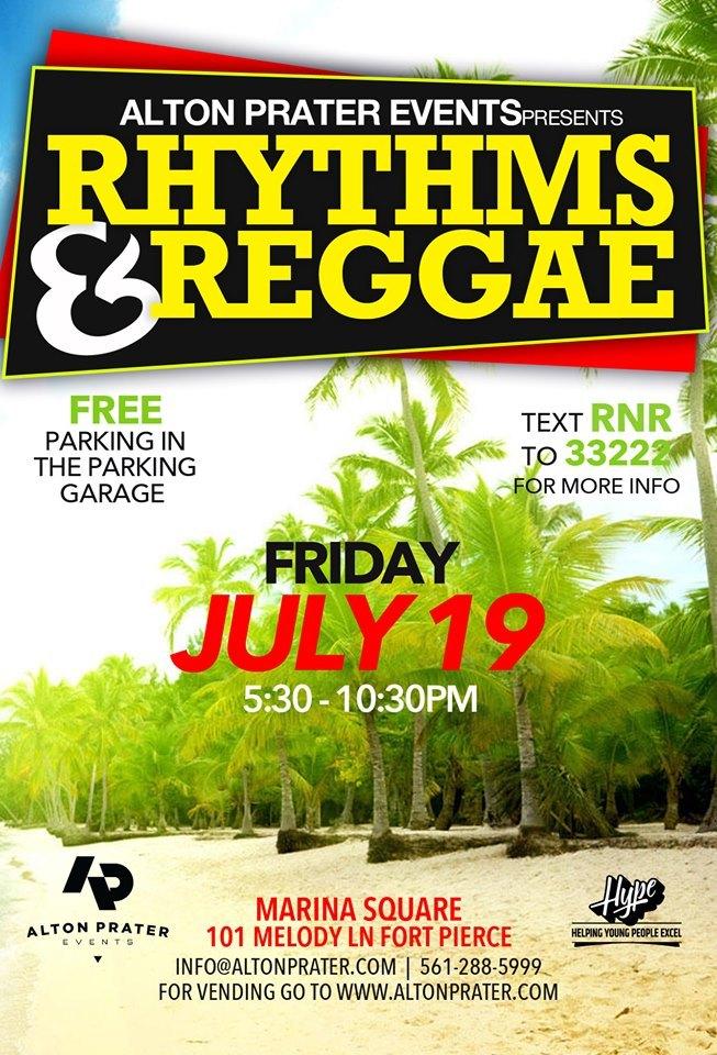 Rhythm and Reggae at the Fort Pierce Marina