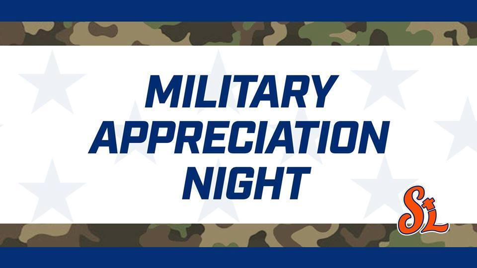 Military Appreciation Night at First Data Field