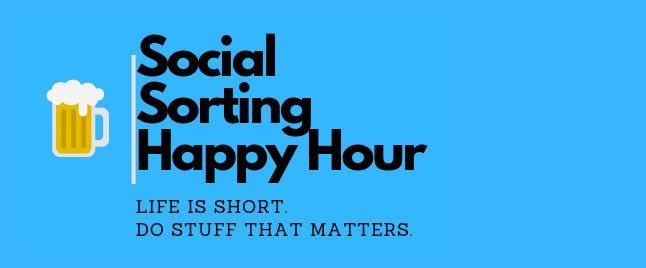 Social Sorting Happy Hour benefiting the Treasure Coast Food Bank