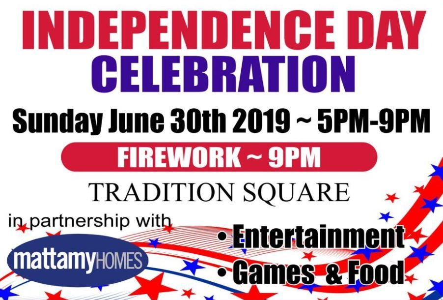 Early Independence Day Celebration at Tradition Square