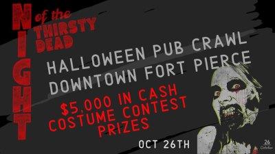 Night of the Thirsty Dead Pub Crawl