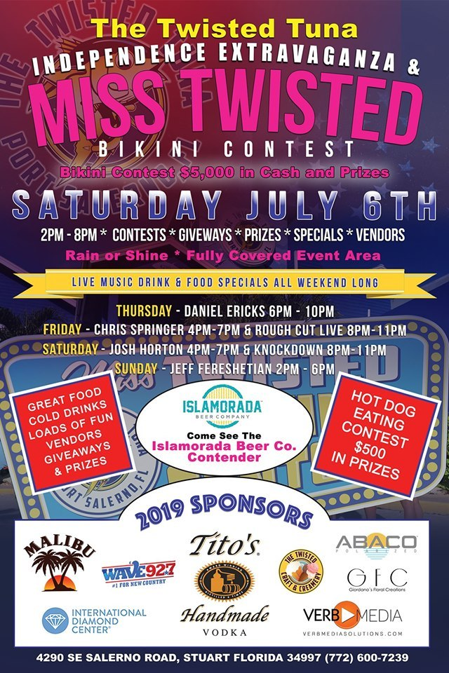 Annual Miss Twisted Bikini Contest at the Twisted Tuna