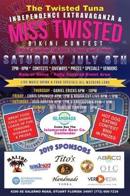 Annual Miss Twisted Bikini Contest at the Twisted Tuna