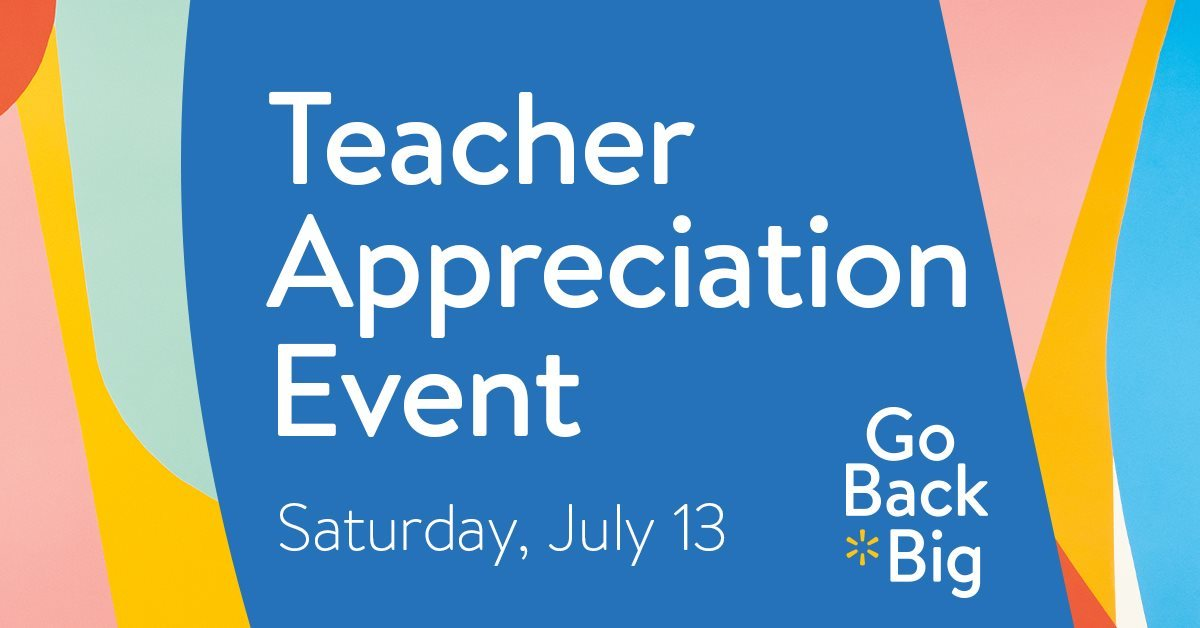 Teacher Appreciation Event at Walmart Port St Lucie