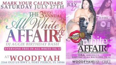 DJ Aggie's Annual All White Affair
