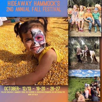 Annual Family Fall Festival at the Hideaway Hammock