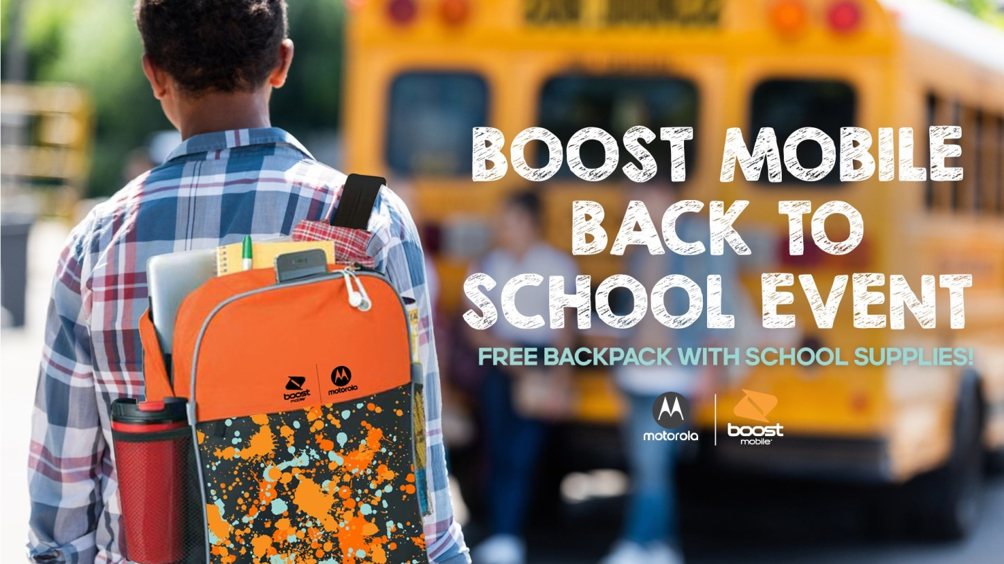 Free Back To School Supplies for Your Child at Boost Mobile