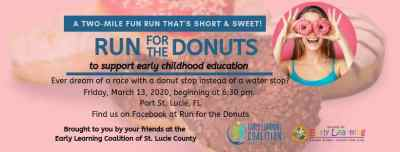 Early Learning Coalition of St Lucie County presents Run For the Donuts