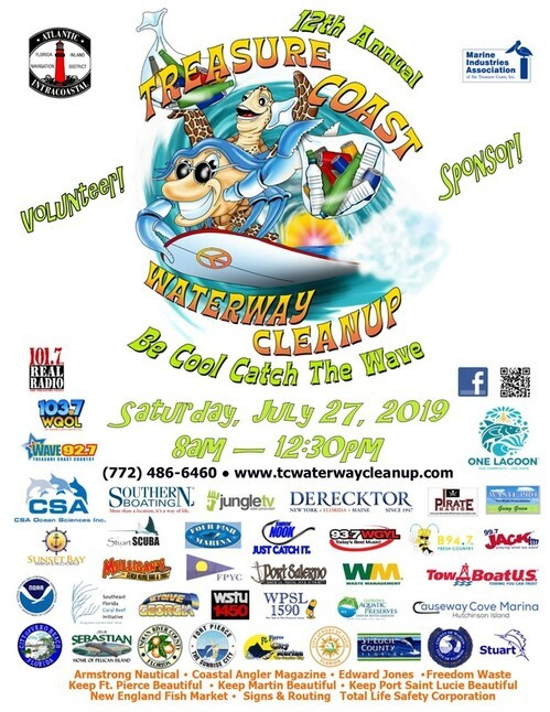 12th Annual Treasure Coast Waterway Cleanup