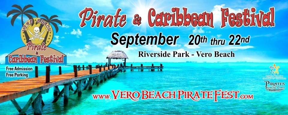 Pirate Fest at Riverside Park in Vero Beach
