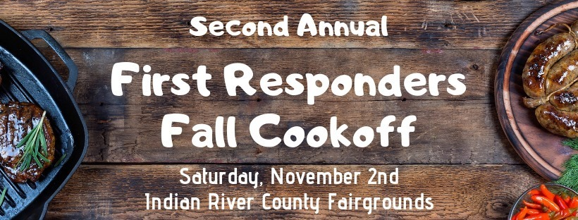 2nd Annual First Responders Fall Cook-Off at the Indian River County Fairgrounds