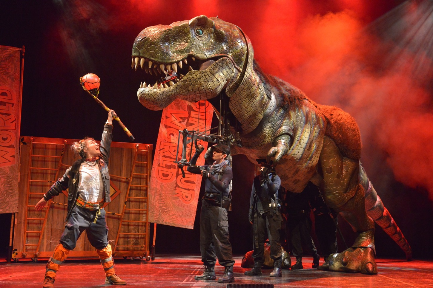Dinosaur World Live at Sunrise Theatre
