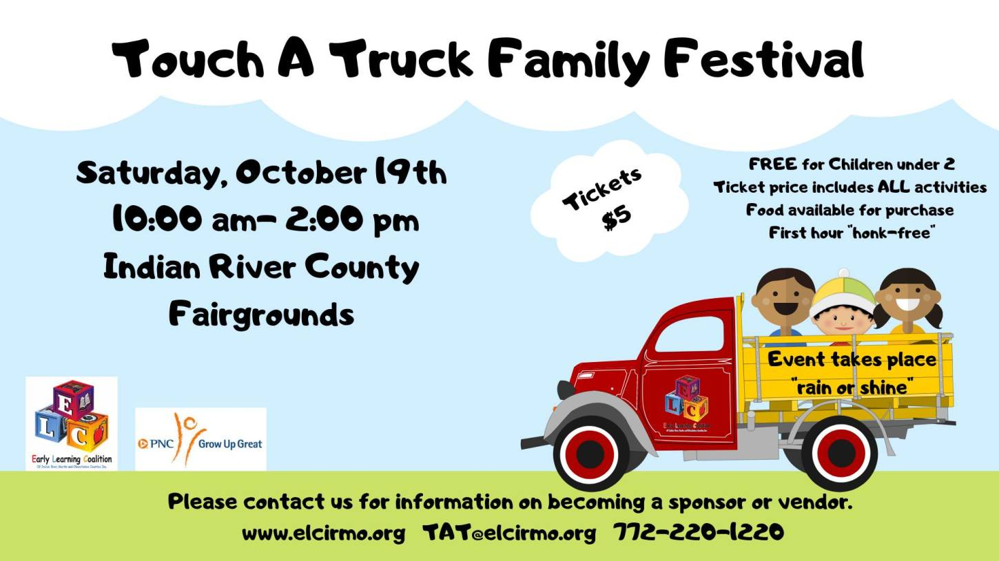 Touch A Truck Family Festival at Indian River County Fairgrounds