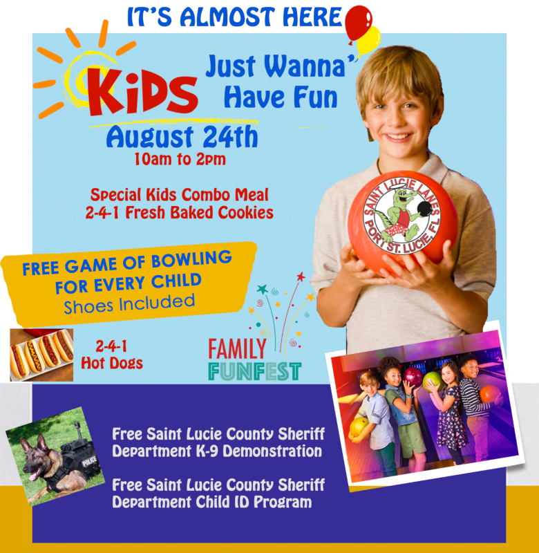 Kids / Family FunFest at St Lucie Lanes