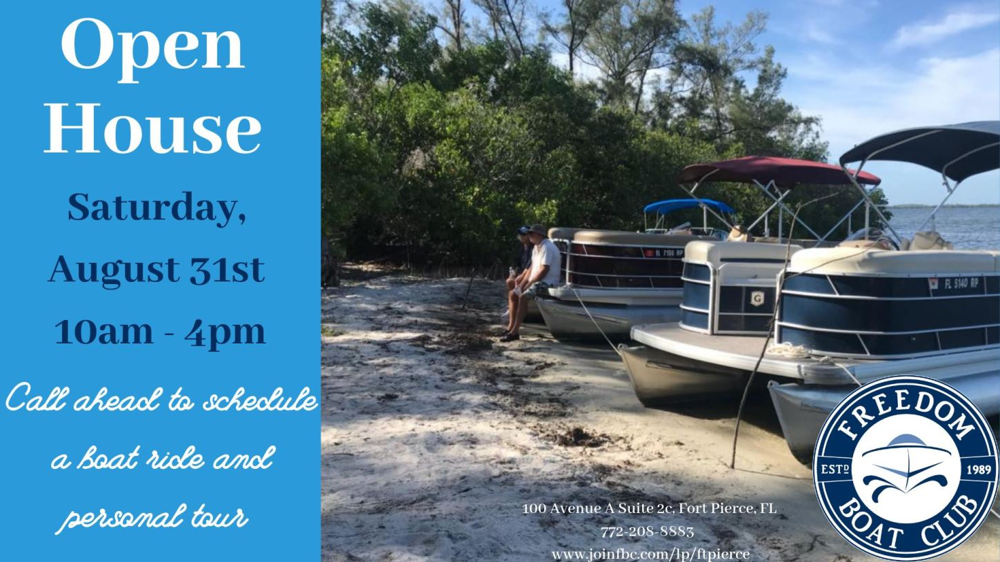 Open House at the Freedom Boat Club of Fort Pierce