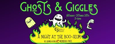 Ghosts & Giggles: A Night at the Boo-seum at The Children's Museum of the Treasure Coast