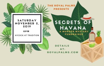 Secrets of Havana - A Murder Mystery Fundraiser at Aycock At Tradition