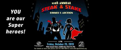 Annual Steak & Stake Dinner and Auction to benefit the Boys & Girls Clubs of St Lucie County