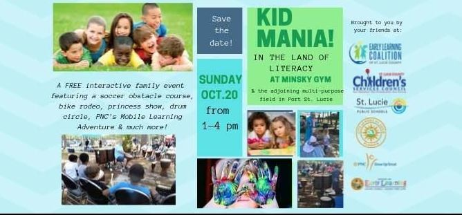 KIDMania in the Land of Literacy at the Minsky Gym