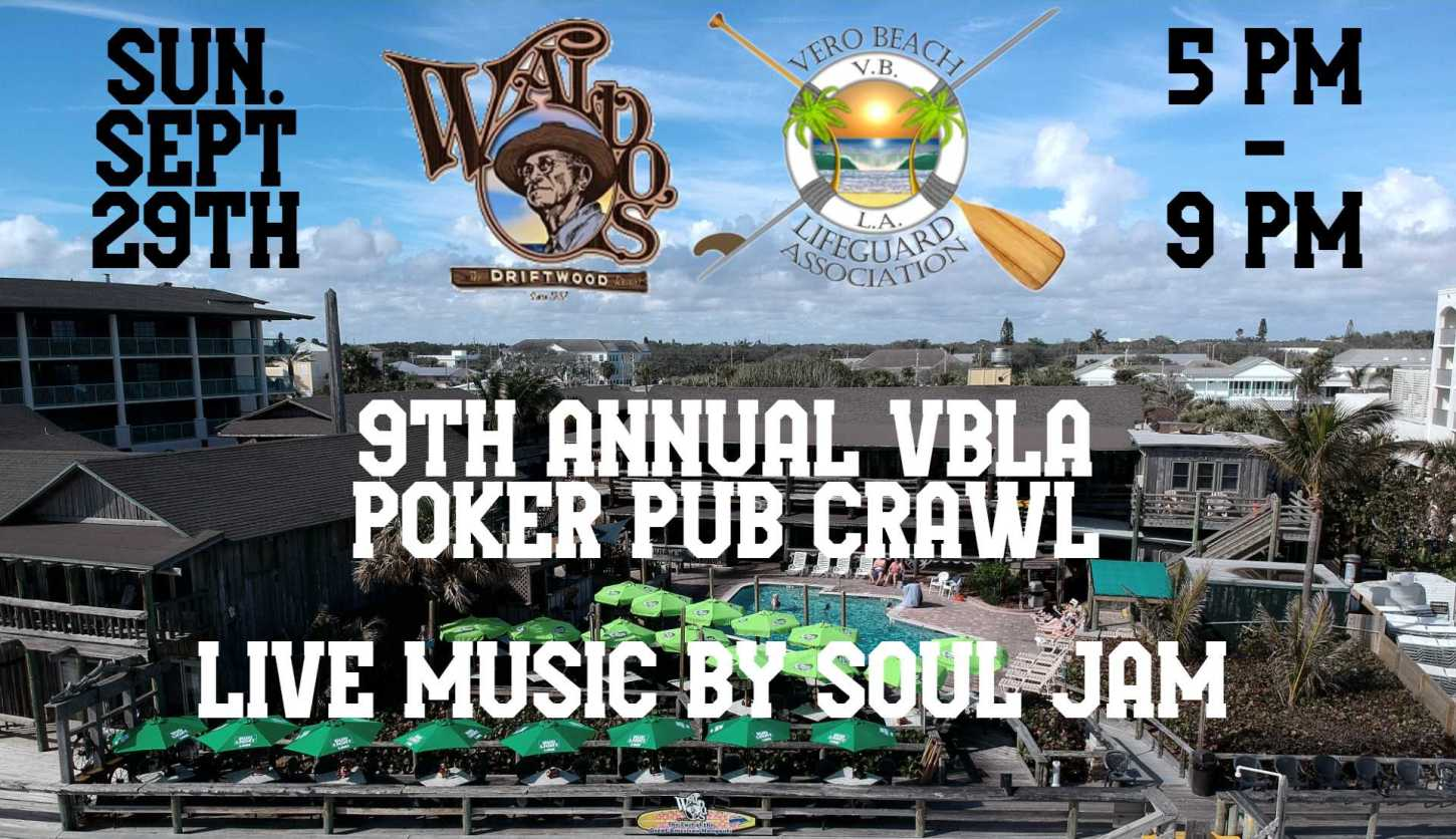 The 9th Annual VBLA Poker Pub Crawl at Waldo's Bar & Grill at the Driftwood