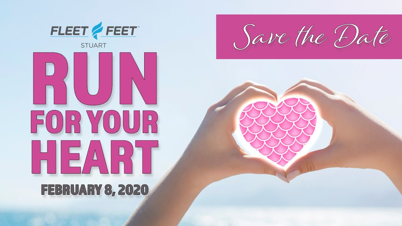 14th Annual Fleet Feet Run for Your Heart 5K - 10K at Fleet Feet Stuart