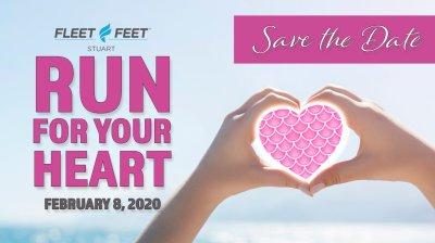 14th Annual Fleet Feet Run for Your Heart 5K - 10K at Fleet Feet Stuart