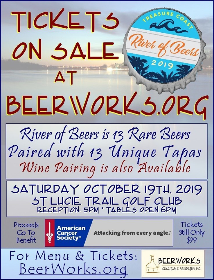 Beerwork's Annual River of Beers at St Lucie Trail Golf Club