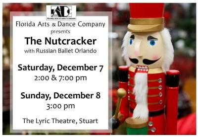 Florida Arts & Dance Company Presents The Nutcracker at the Lyric Theatre