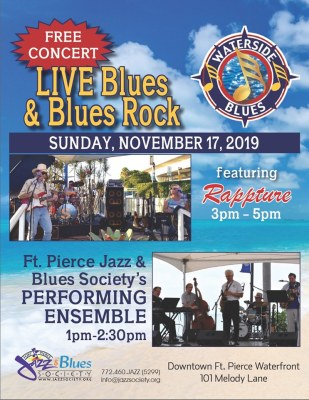 Live Blues & Blues Rock - Waterside Concert at the Fort Pierce Marina