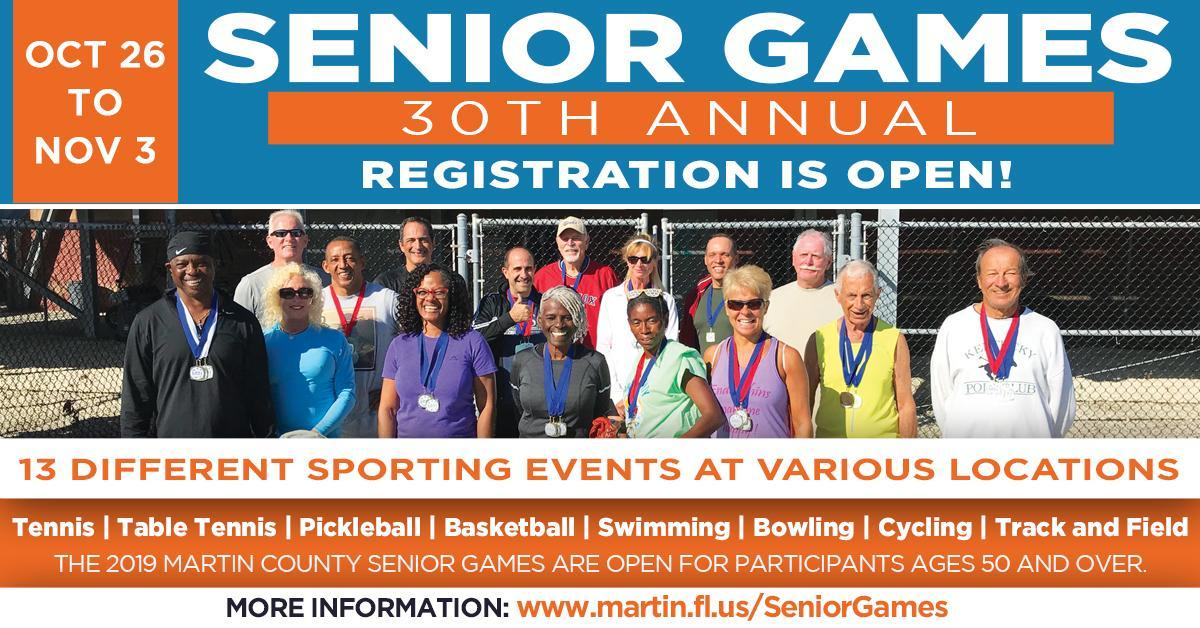 Martin County 30th Annual Senior Games