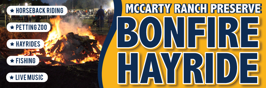 Bonfire Hayride at McCarty Ranch Preserve in Port St Lucie