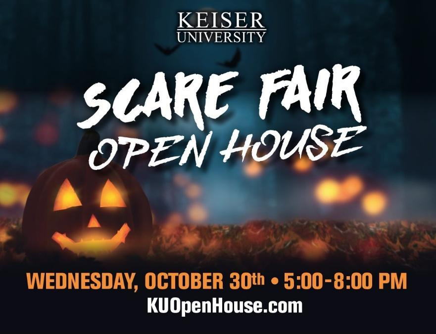 Keiser University's Annual Scare Fair and Open House